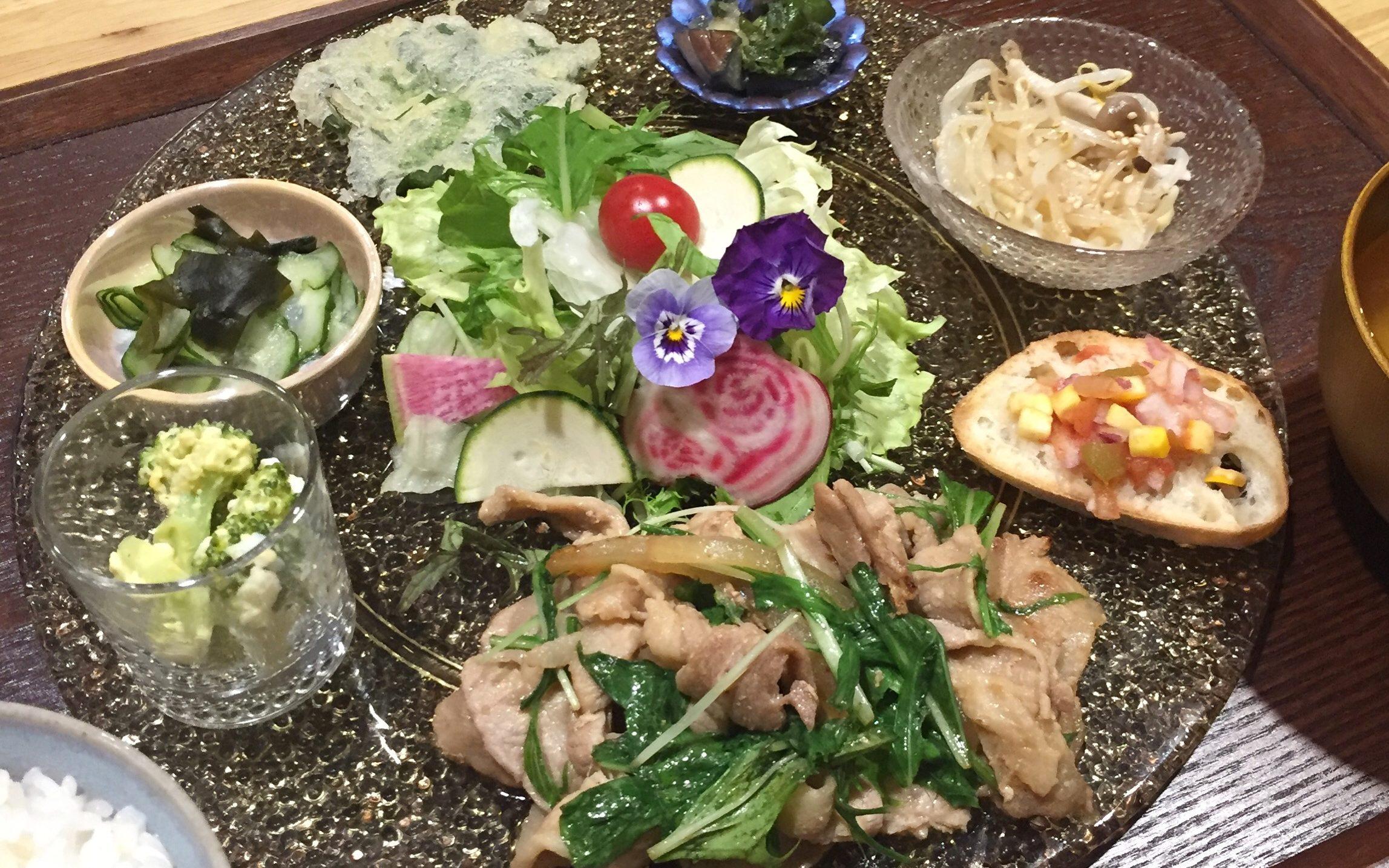 野菜御飯 幻想植物園(ゲンソウショクブツエン)